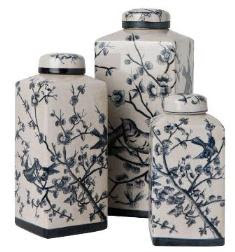 Beautiful Chinese Canisters