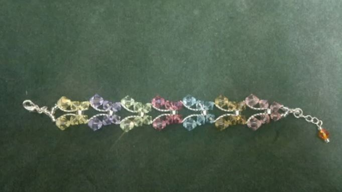 Unusual Swarovski Crystal Erfly Bracelet Tutorial The Beading Gem S Journal