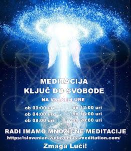 Aktualne meditacije ob 4-urnih intervalih