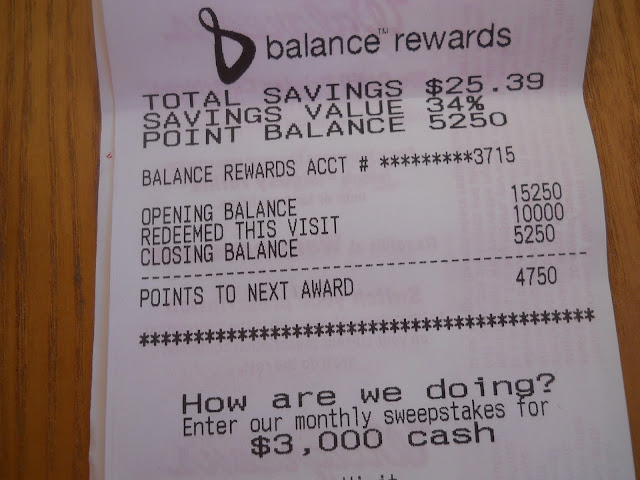 Walgreens Balance Rewards Savings