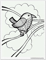 bird coloring pages free printables