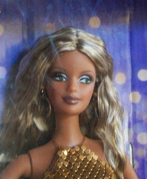 Face of All That Glitters Barbie, Diva Collection