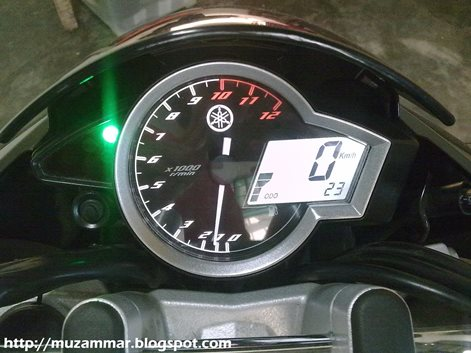 Detail New Yamaha Vixion Lighting 2013