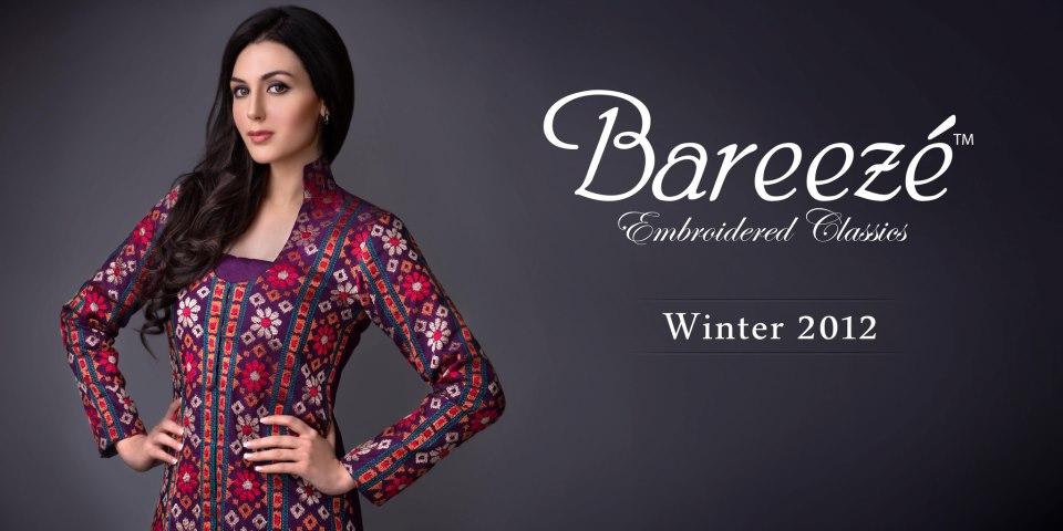 Bareeze Embroidered Classic Collection 2012