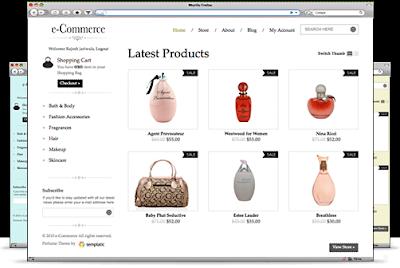 eCommerce Wordpres eCommerce Theme