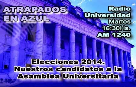 73. Elecciones 2014. Nuestros candidatos a la AU