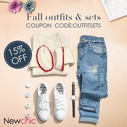 Newchic 15% off