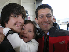 Chloe and her brother Nolan meet Paul Ryan!