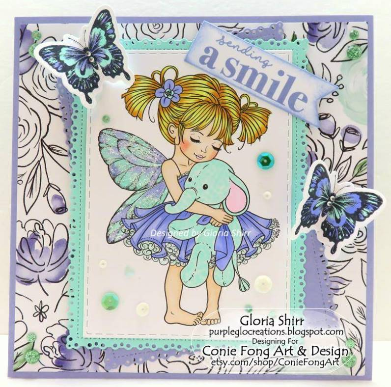 Featured Card at Heart2Heart Challenge Blog