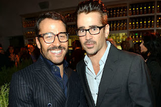 Jeremy Piven (left) and Colin Farrell.