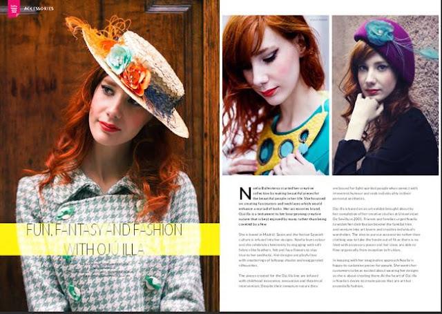 editorial de moda en vie magazine septiembre 2013 ojuilla