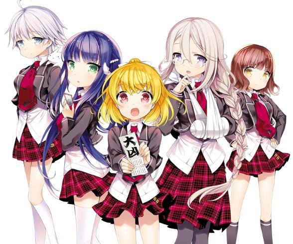 Anime 'Unhappy' Ungkapkan Staff Utama Dan Jadwal Tayang