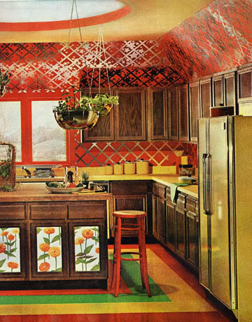 Designascope may 2012 for 70s style kitchen cabinets