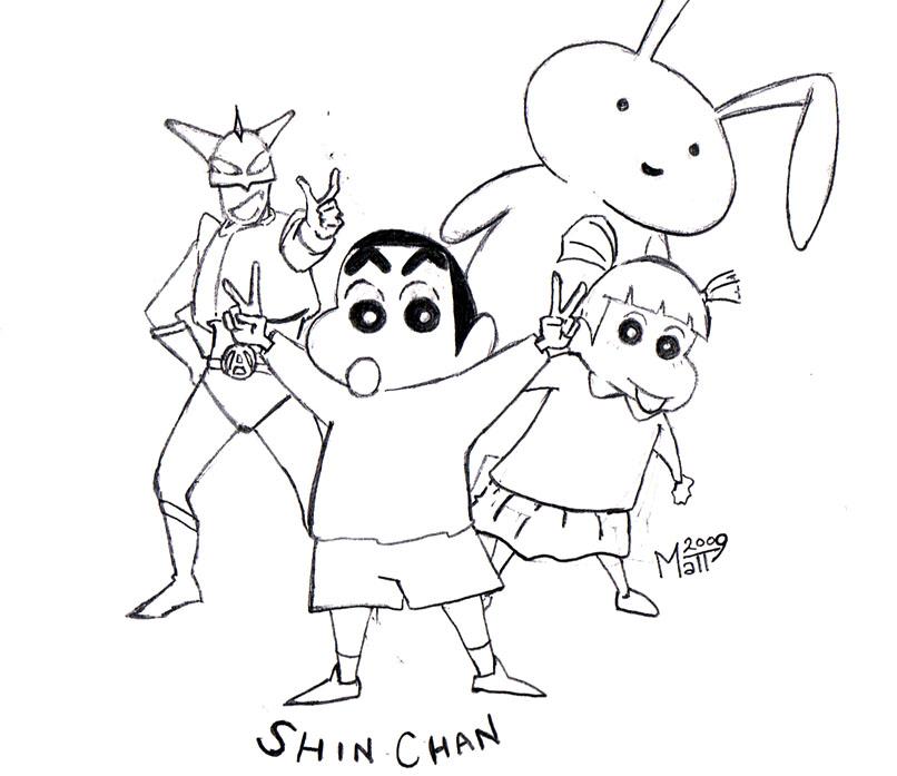 Cartoons Coloring Pages Shin Chan Coloring Pages Shin Chan Coloring Pages
