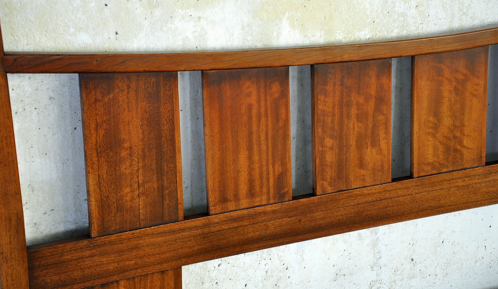 Select Modern Mid Century Teak King Headboard