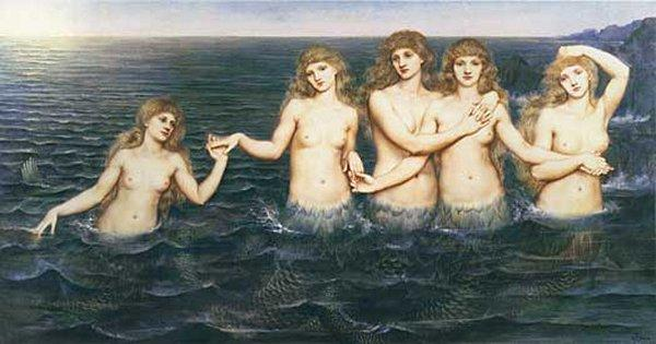 pickering de morgan sea maidens