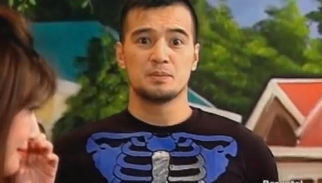 Antonio looked so surprised after Rufa Mae's explanation.
