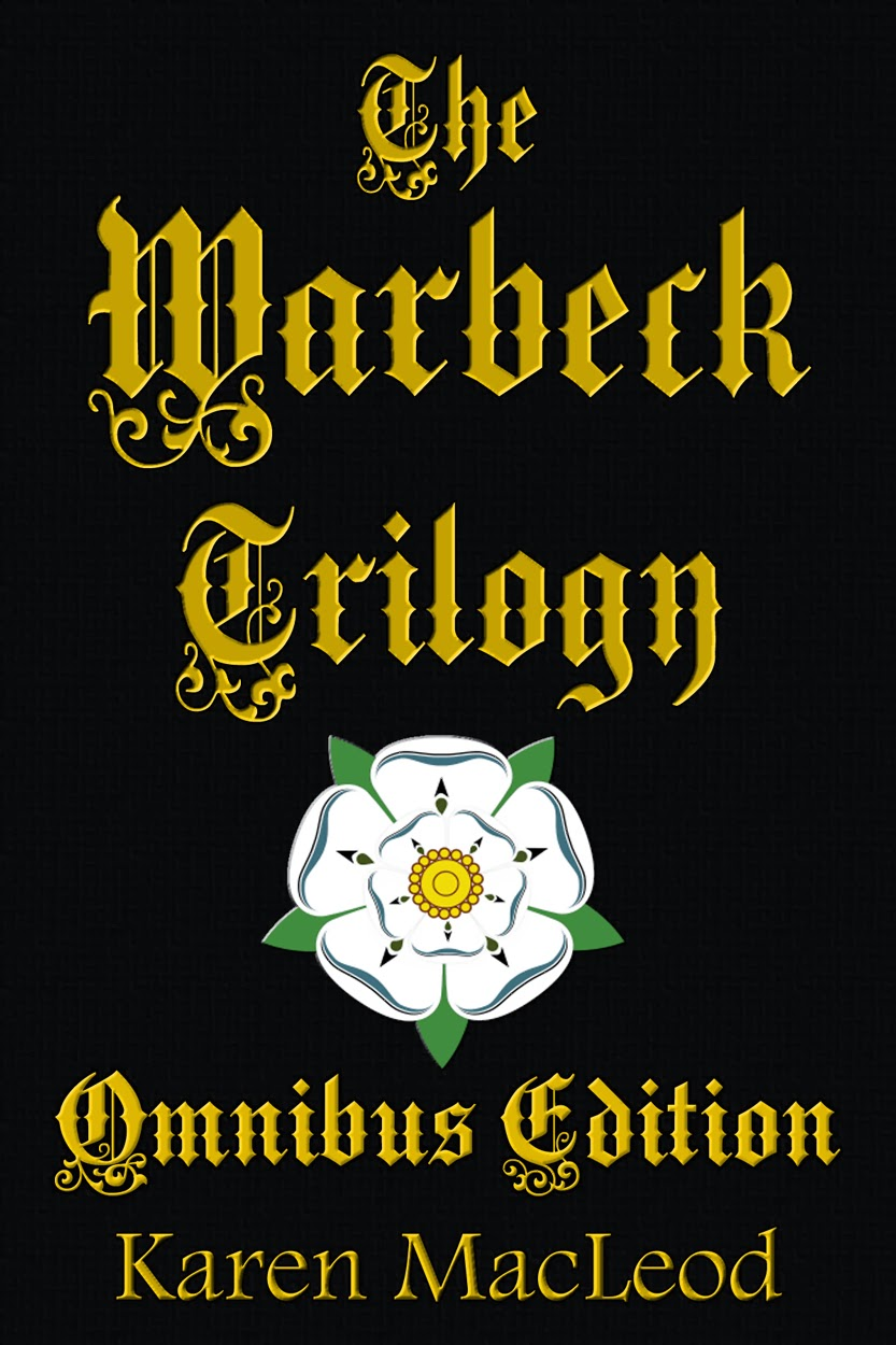 Cover of the Omnibus Edition of The Warbeck Trilogy