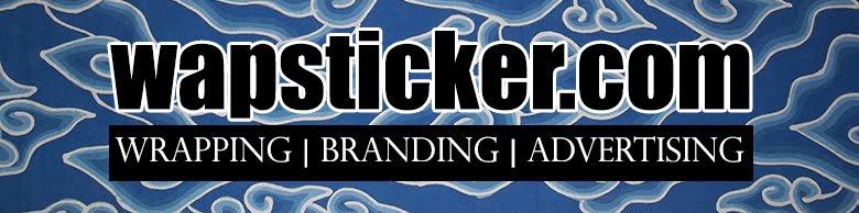 Pasang Sticker Branding Mobil
