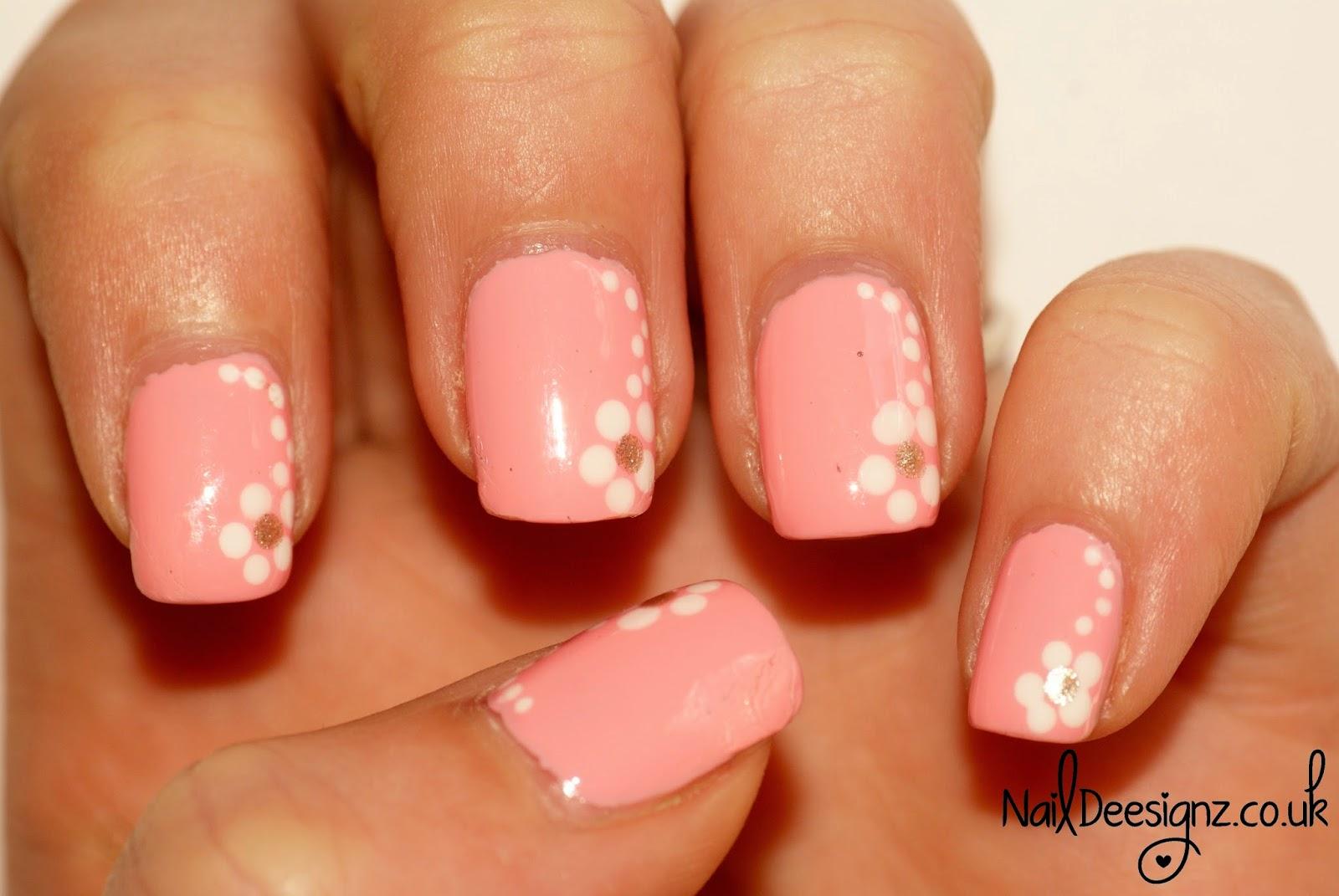 Naildeesignz Spring Flower Nail Art
