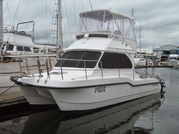 31' leisure Cat FlyBridge - Price: AU $164,900  NOW REDUCED