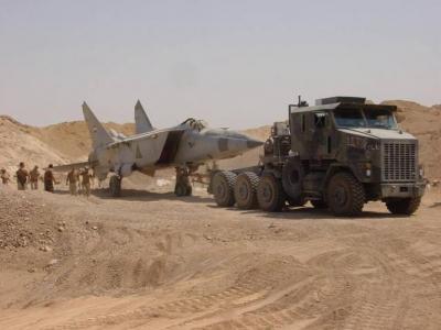 Jet Pejuang Yang Disembunyikan Saddam