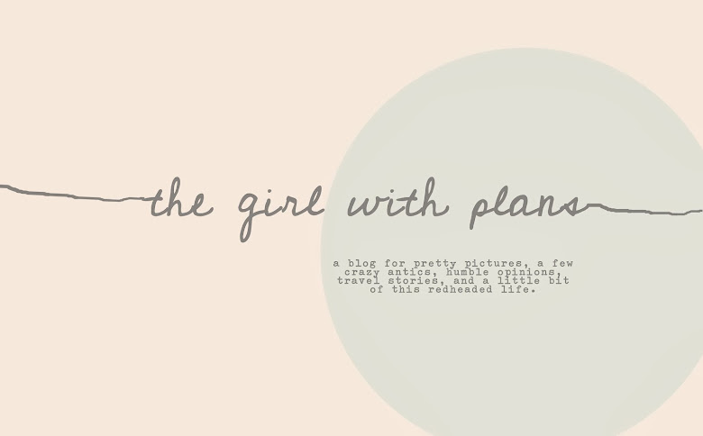 the girl with great big plans