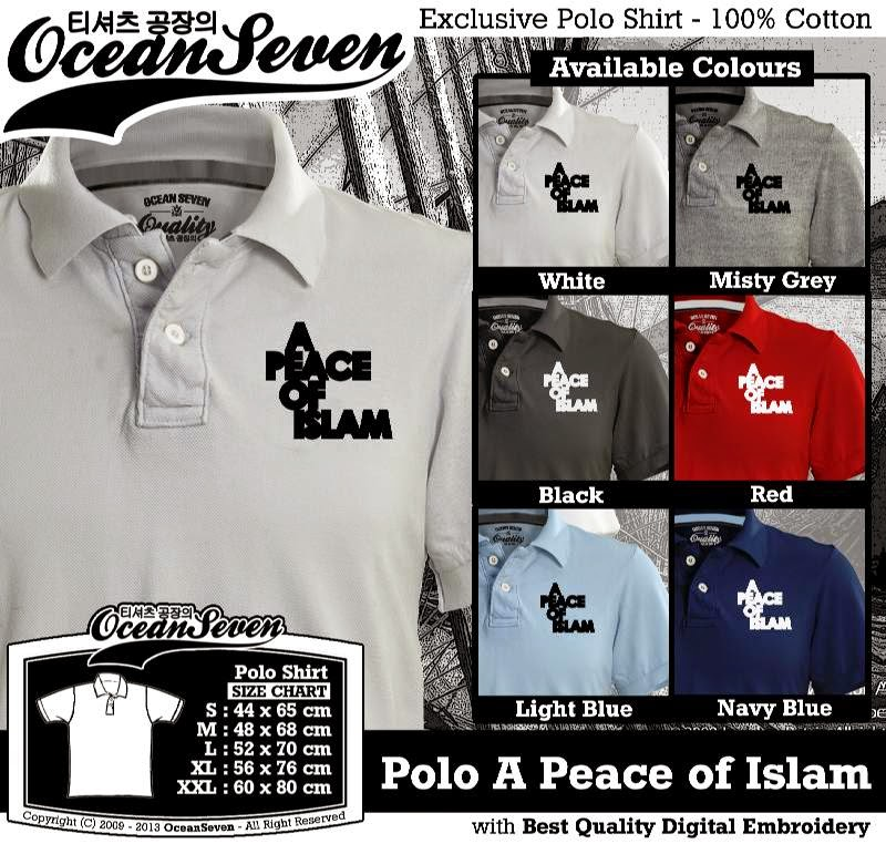 Kaos Polo A Peace of Islam