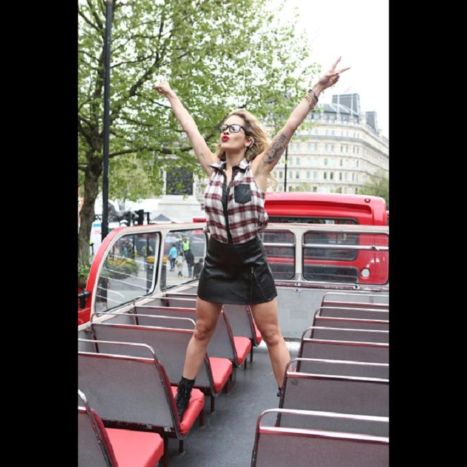 Rita Ora's Material Girl Campaign