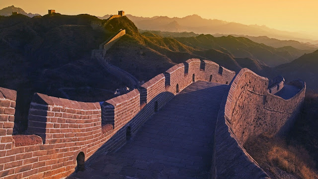 Wall Of China Evening HD Wallpaper
