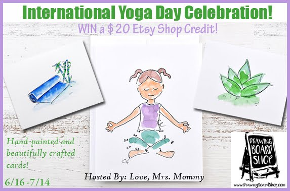 International Yoga Day Celebration Giveaway