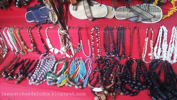 Marché des artisans - Douala - Les Marches d'Elodie
