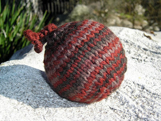 knitted ornament