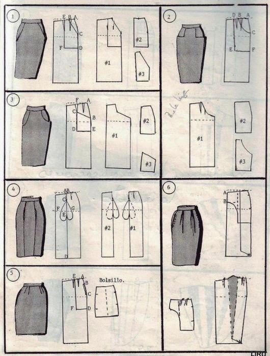 Как научится кроить юбку