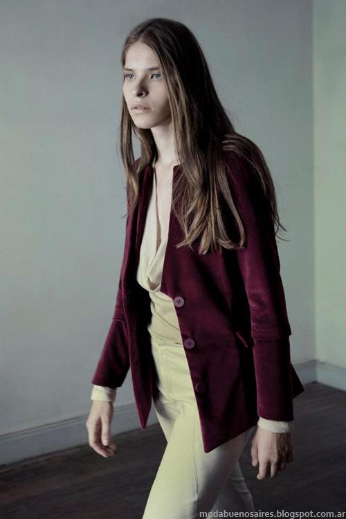 Daniela Sartori invierno 2013 Moda mujer.