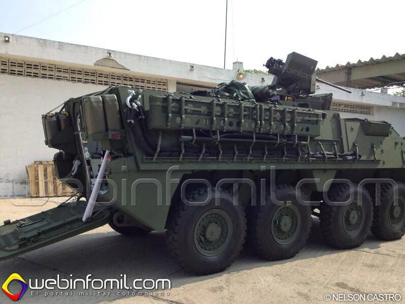 Ejercito Colombia LAV III Gladiador Blindado