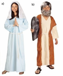 Moses And Mary Costume