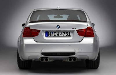 2012 BMW M3 CRT Rear View