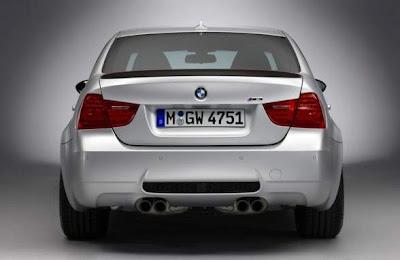 2012 BMW M3 CRT Rear View