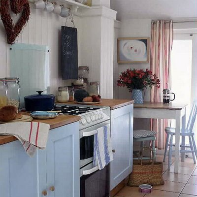 Vintage pearl the inspiration the vintage kitchen for Vintage kitchen designs photos