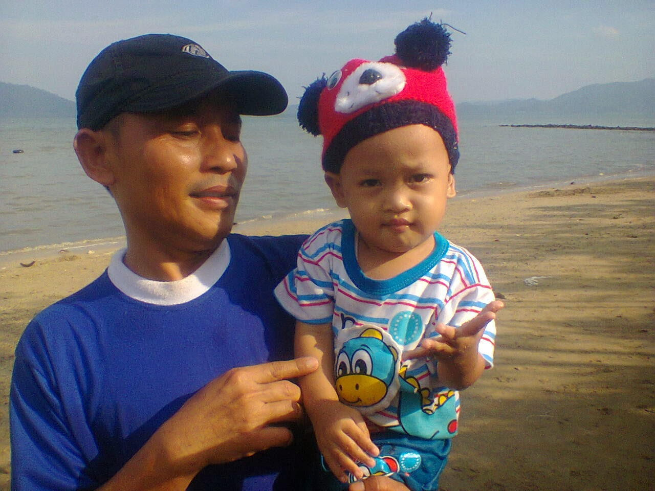 my husban & my Son
