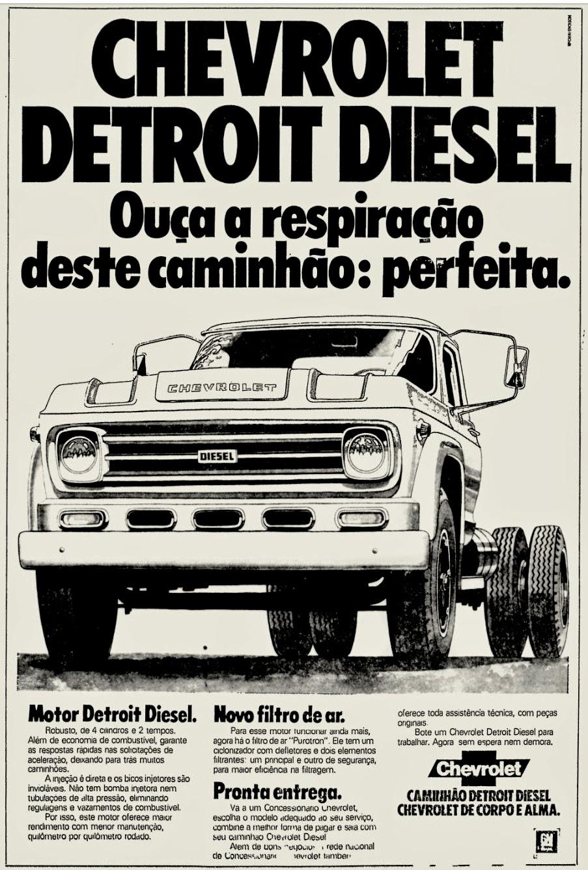 Chevrolet . reclame de carros anos 70. brazilian advertising cars in the 70. os anos 70. história da década de 70; Brazil in the 70s; propaganda carros anos 70; Oswaldo Hernandez;