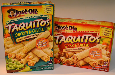 Jose Ole, Taquitos, Steak & Cheese, Chicken & Cheese,