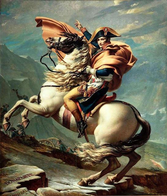 Napoleon Alps Charlemagne Hannibal