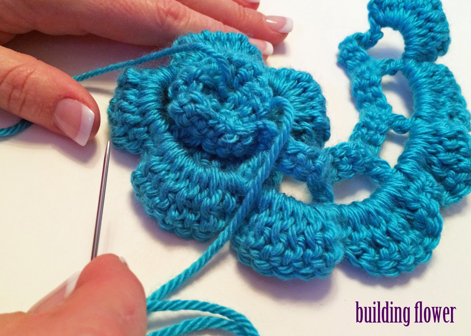 Crochet A Flower Easy Pattern ~ Dancox for .