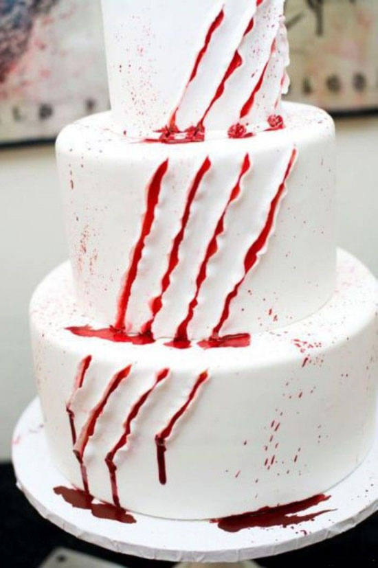 I Do It Yourself Slashed Cake