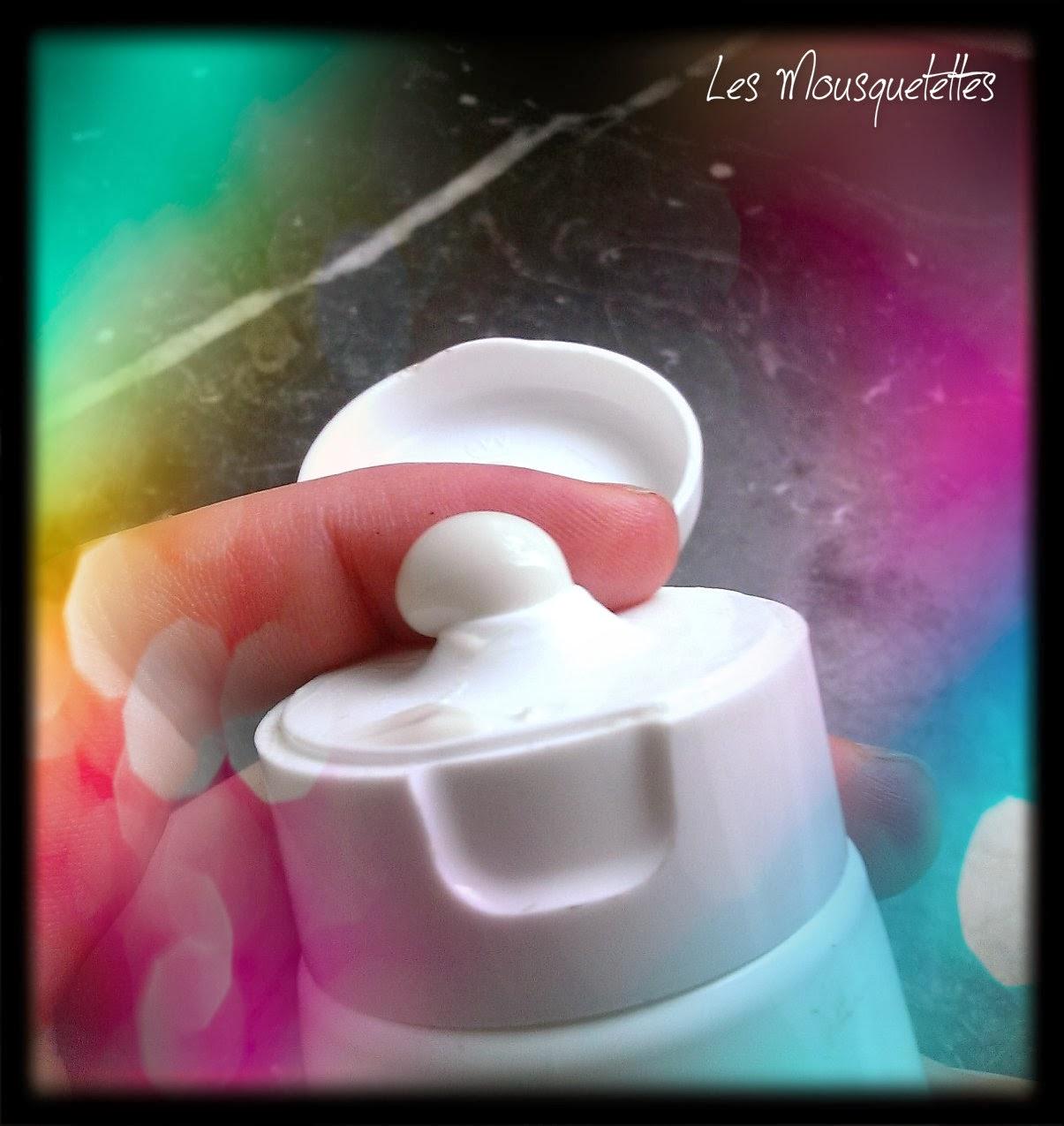 Texture masque crème Skintense Convenion Cosmetics - Les Mousquetettes©
