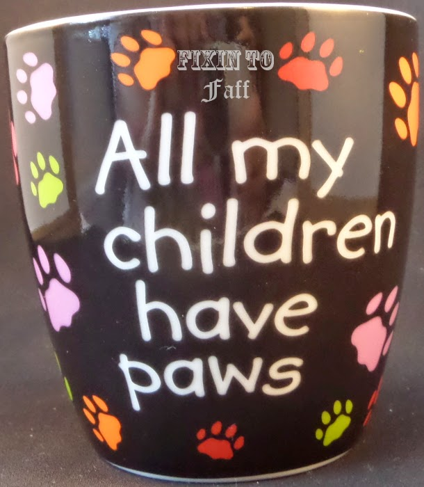 All my children have paws nail art