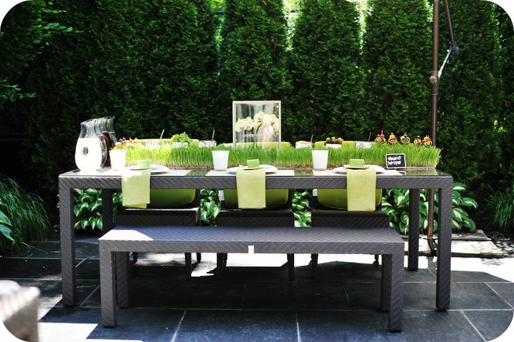 so lovely sweet tables idee deco table barbecue. Black Bedroom Furniture Sets. Home Design Ideas