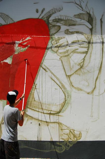 urban art by bezt in lagos portugal